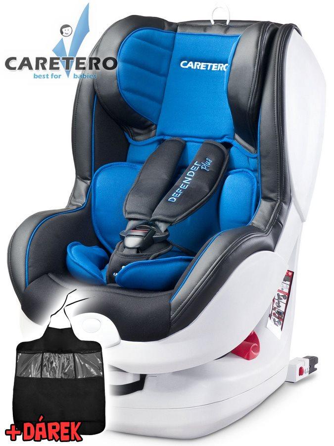 Autosedačka CARETERO Defender Plus Isofix blue 2016 + darček