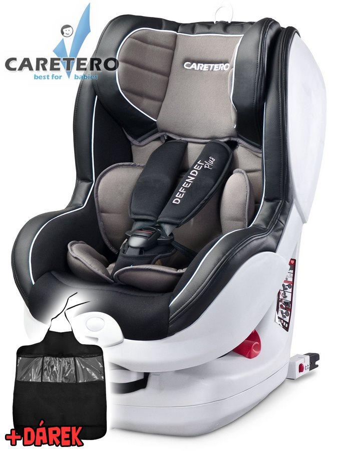 Autosedačka CARETERO Defender Plus Isofix graphite 2016 + darček