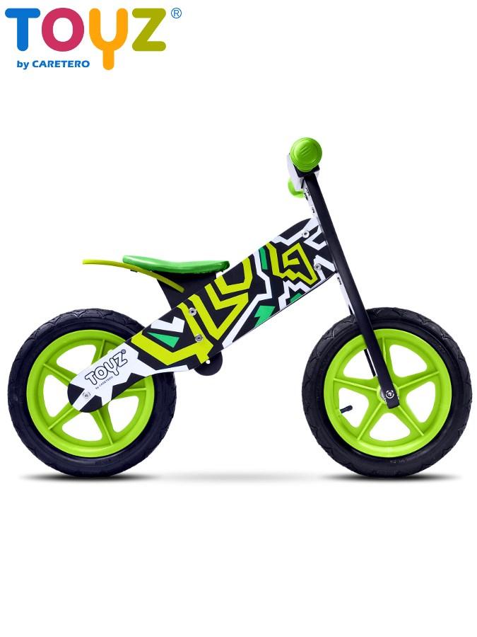 Detské odrážadlo kolo Toyz Zap black-green