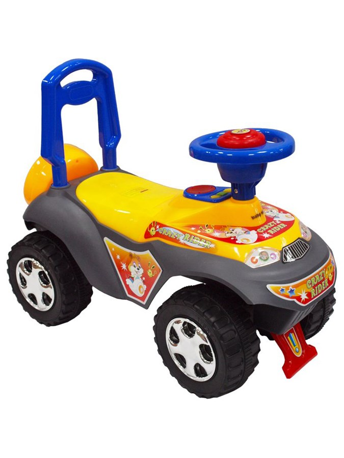 Odrážadlo Baby Mix Turbo yellow