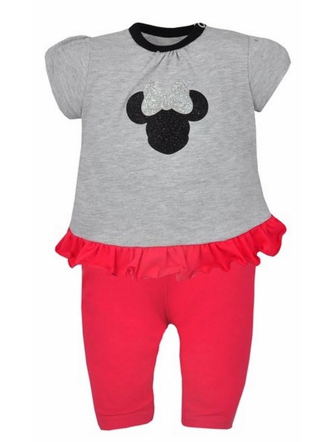 2-dielna súprava Koala Lady sivo-ružová