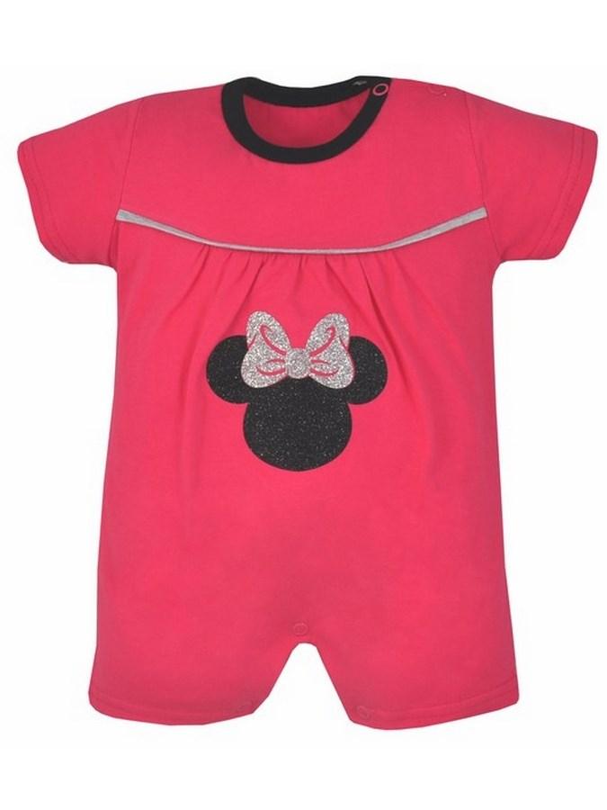Dojčenský letný overal Koala Lady ružový