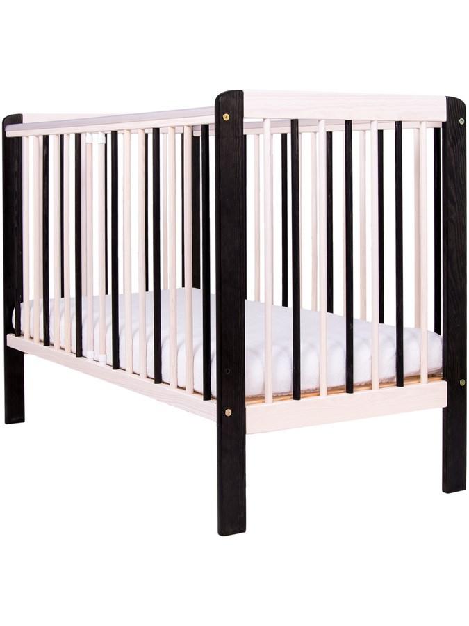 Detská postieľka Drewex Zebra prírodná