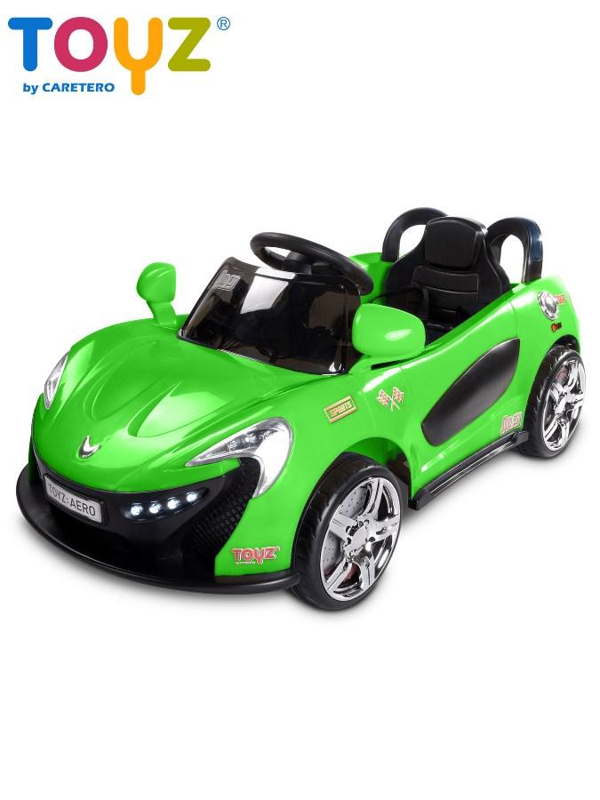 Elektrické autíčko Toyz Aero - 2 motory a 2 rýchlosti zelené