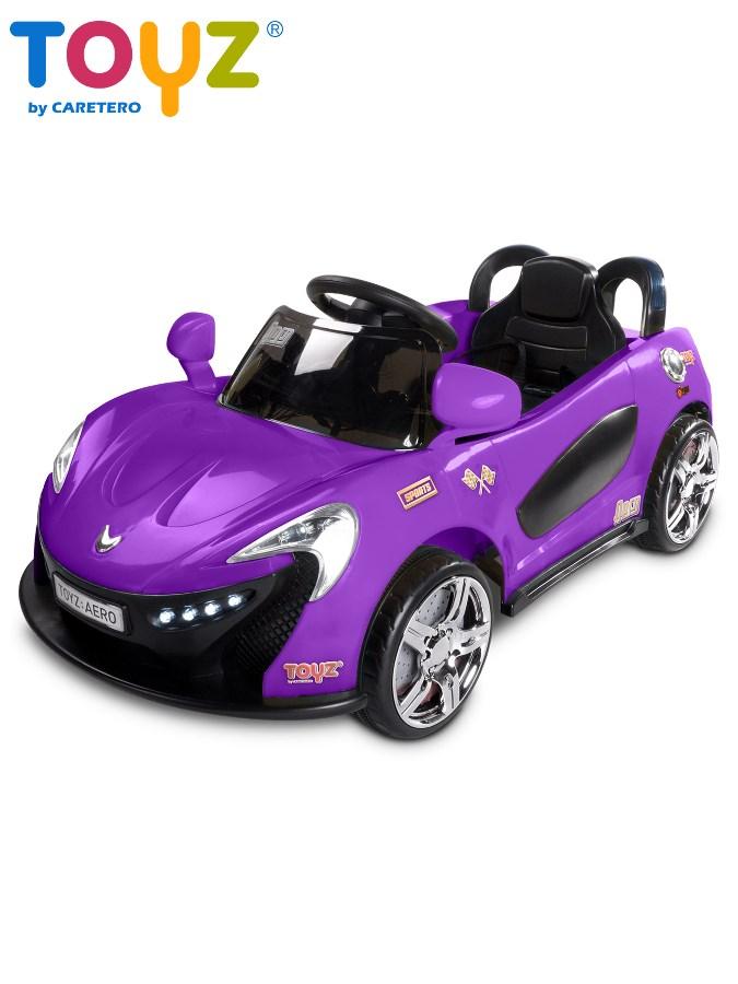 Elektrické autíčko Toyz Aero - 2 motory a 2 rýchlosti fialové