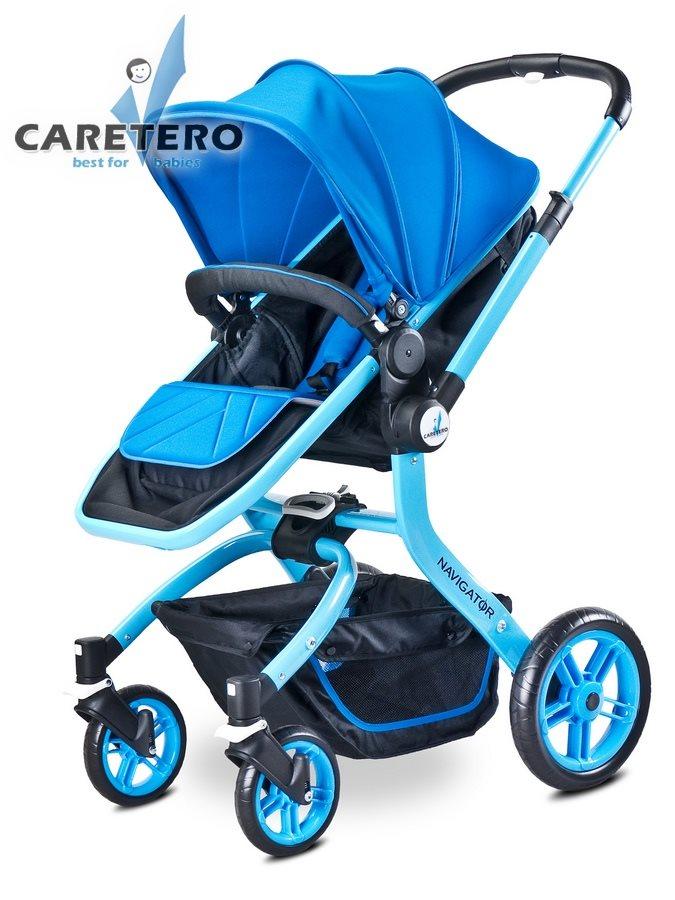 Detský kočík 2v1 CARETERO Navigator blue