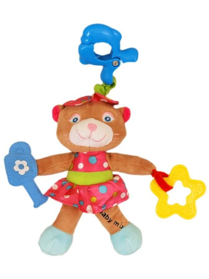 Detská plyšová hračka s vibráciou Baby Mix Lasička