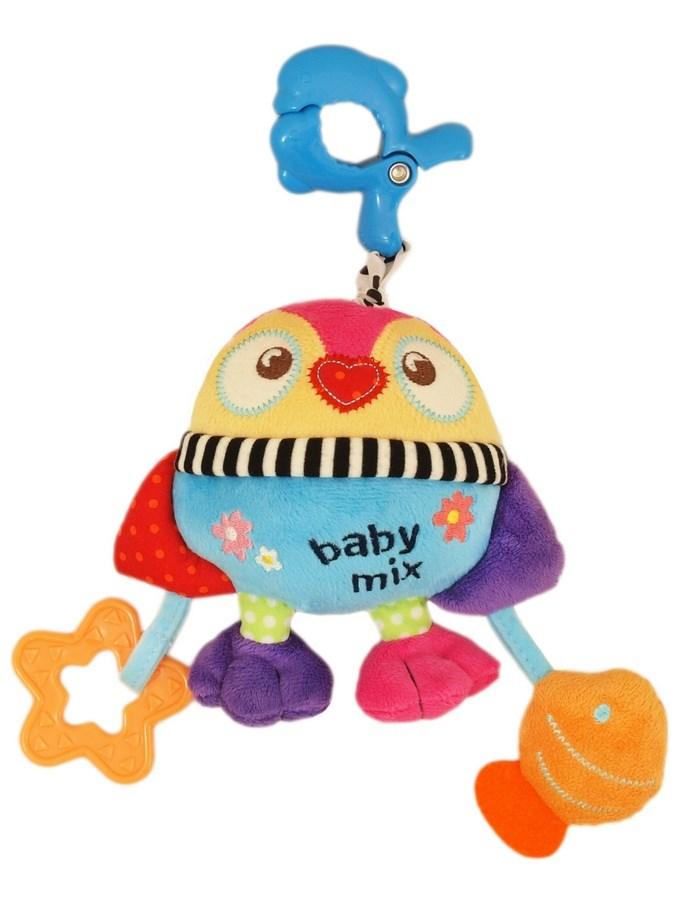 Plyšová hračka s hracím strojčekom Baby Mix Tučniak