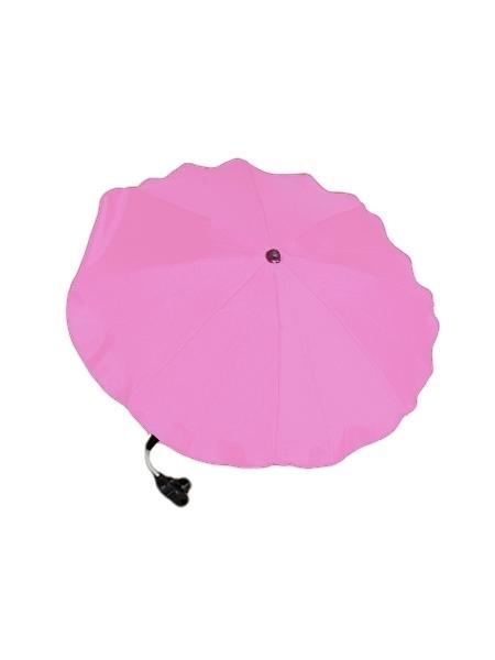 Slnečník na kočík - svetlo ružový