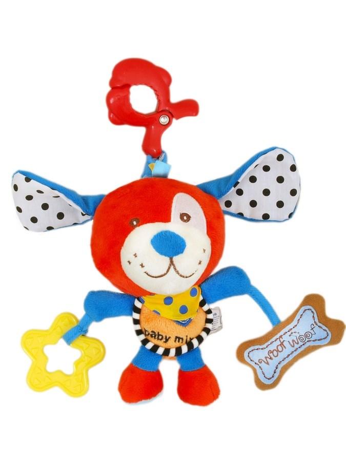 Plyšová hračka s hracím strojčekom Baby Mix Red Dog