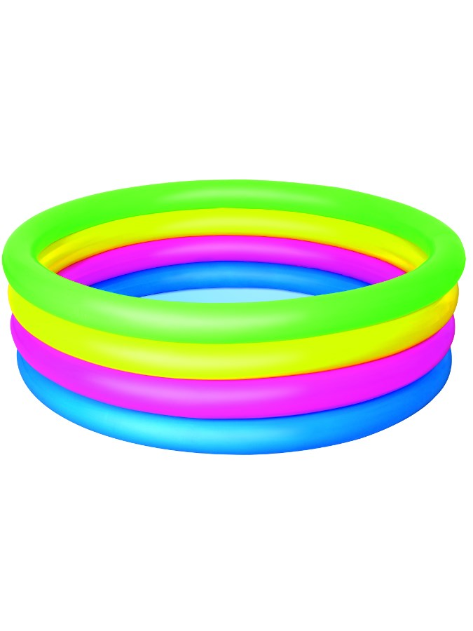 Detský nafukovací bazén Bestway 4 farebný