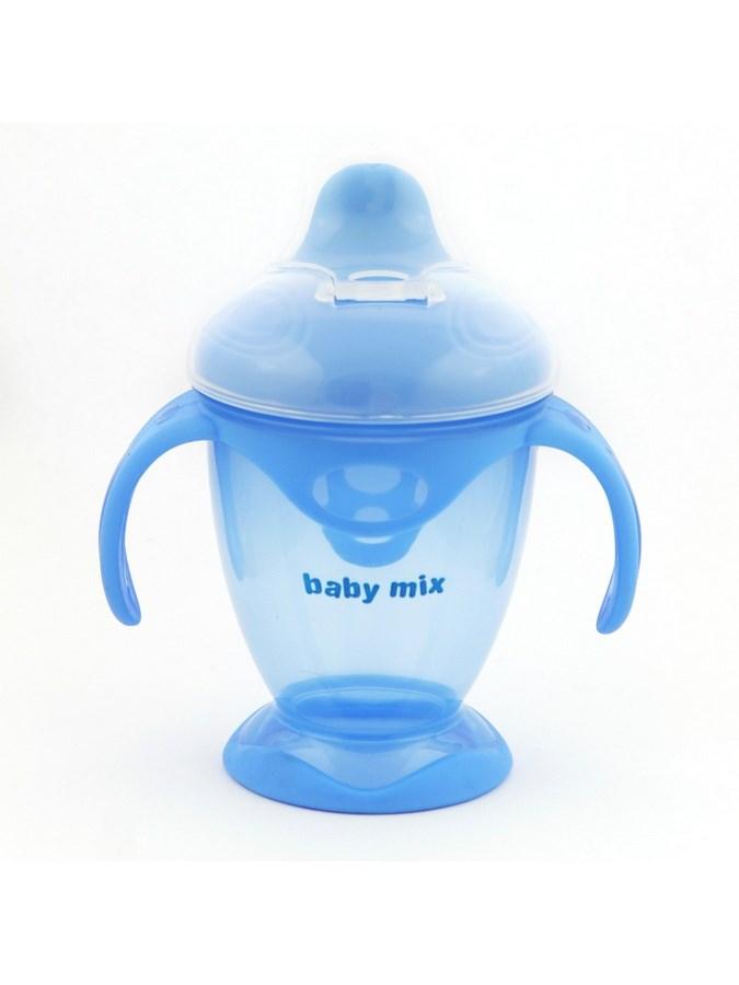 Detský kúzelný hrnček Baby Mix 200 ml modrý