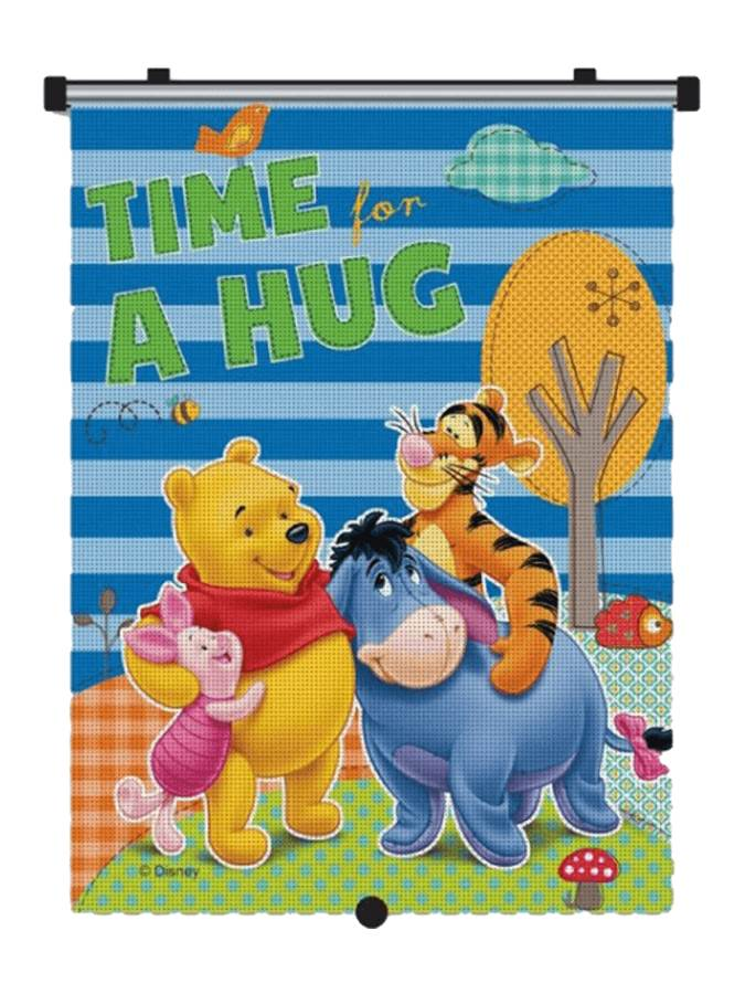 Slnečná roleta do auta Winnie the Pooh