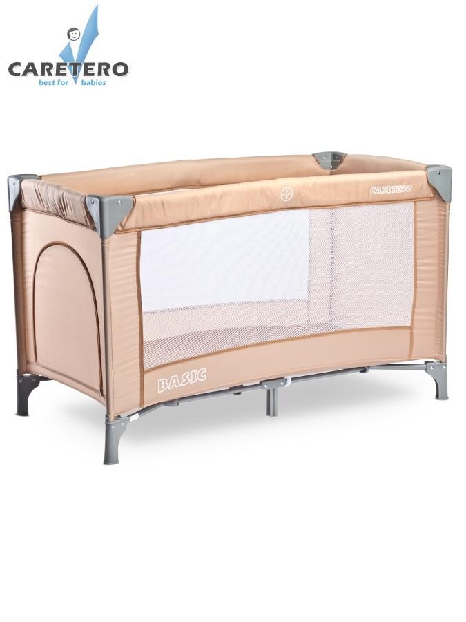 Cestovná postieľka CARETERO Basic 2016 beige