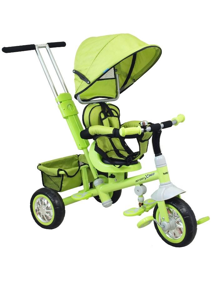 Detská trojkolka Baby Mix zelená