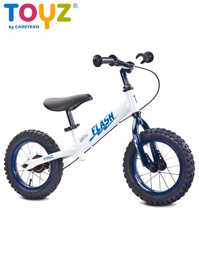 Detské odrážadlo bicykel Toyz Flash white