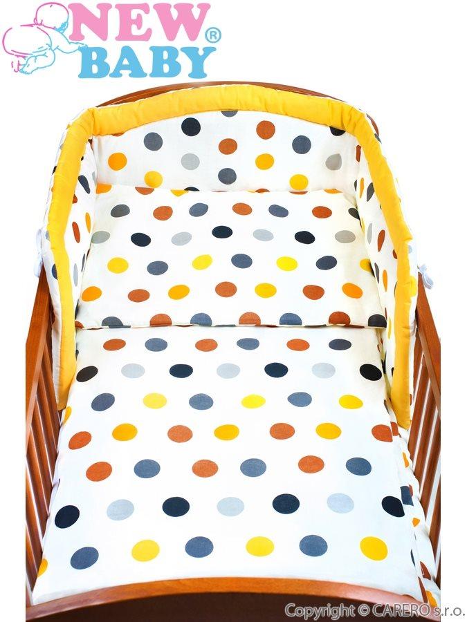 3-dielné posteľné obliečky New Baby 100/135 cm