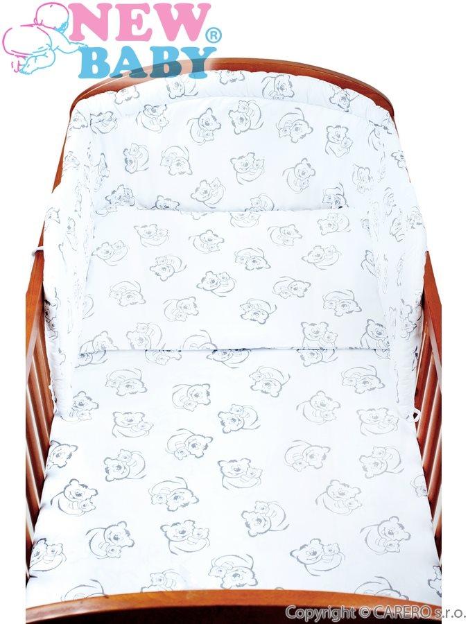 3-dielne posteľné obliečky New Baby 90/120 cm