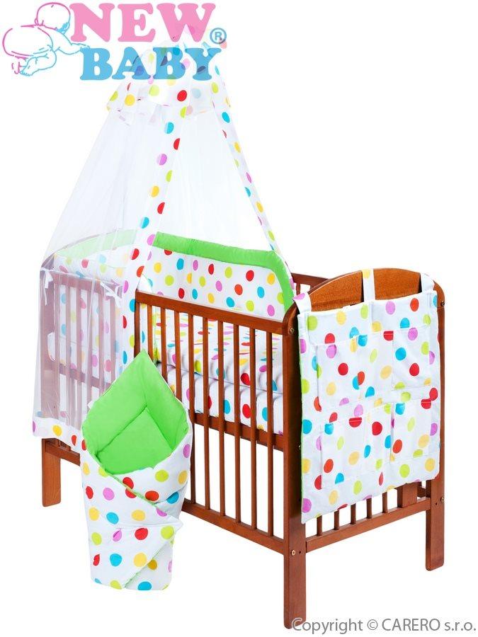 11-dielné posteľné obliečky New Baby 90/120 cm + držiak na nebesia