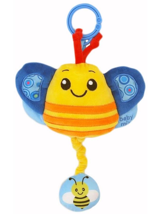 Plyšová hračka s melódiou Baby Mix včielka