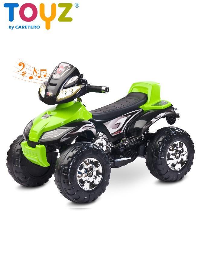Elektrická štvorkolka Toyz Cuatro green