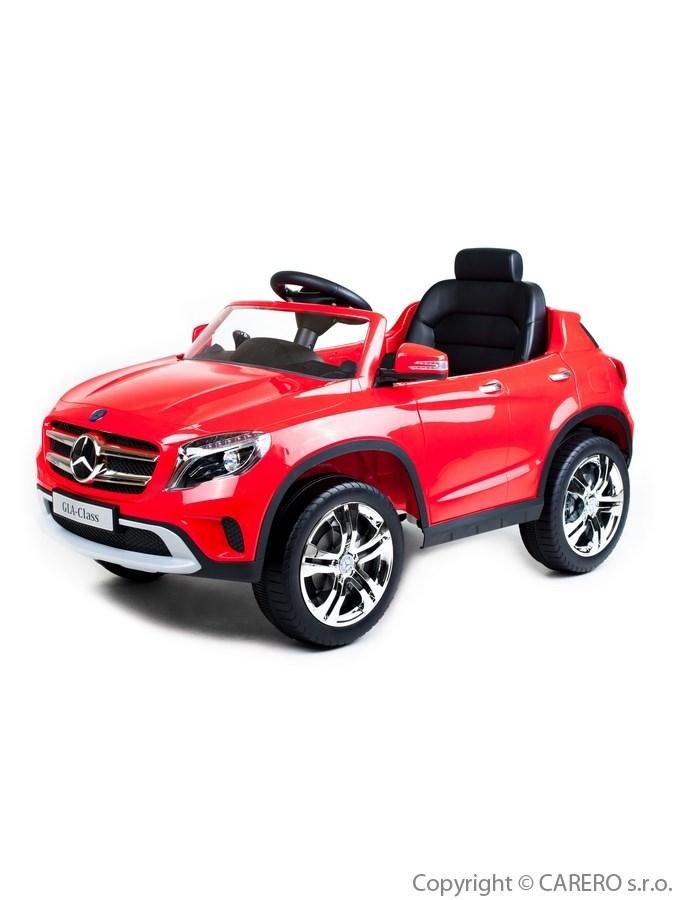 Elektrické autíčko Mercedes-Benz Bayo red