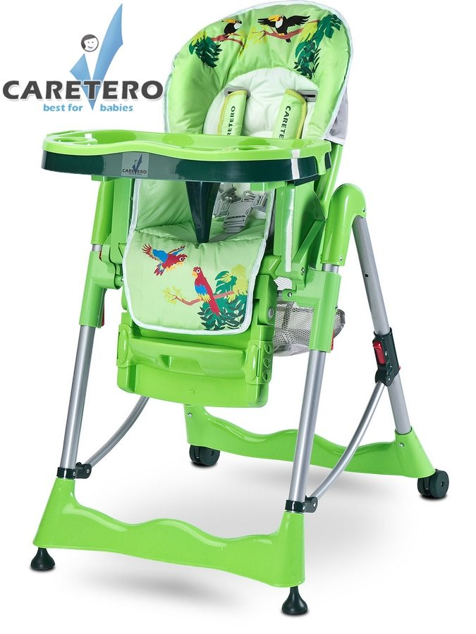 Stolička CARETERO Magnus Fun green