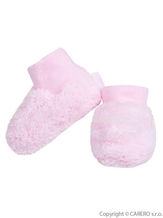 Dojčenské topánočky Baby Service ružové