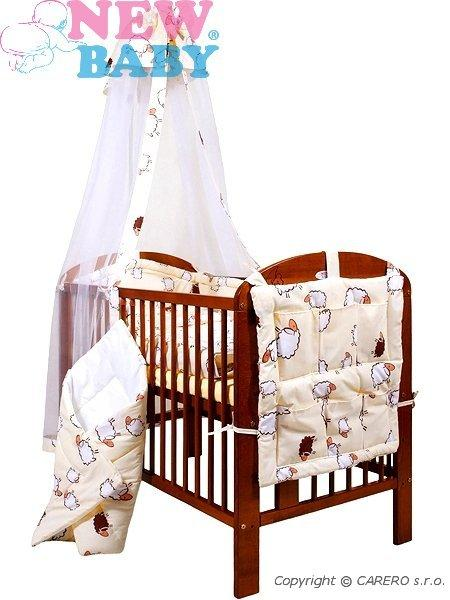 7-dielne posteľné obliečky 90/120 cm