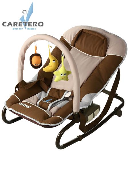 Detské lehátko CARETERO Astral brown