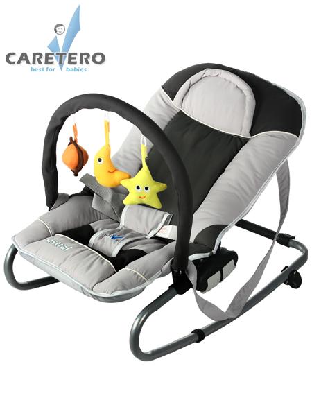 Detské lehátko CARETERO Astral grey