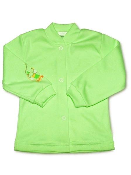 Dojčenský kabátik New Baby zelený