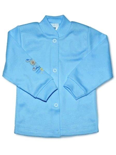 Dojčenský kabátik New Baby modrý