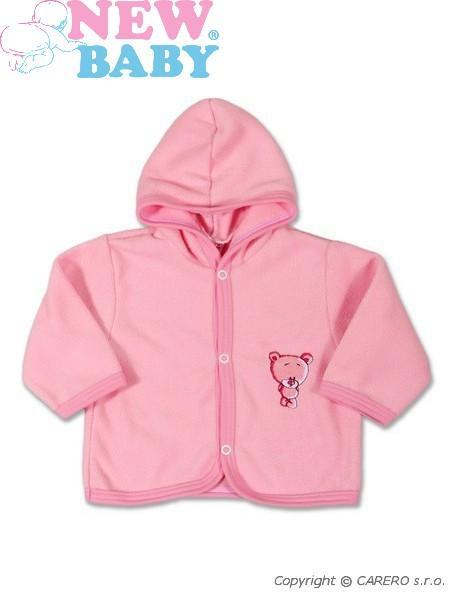Fleecový kabátik Sweet Teddy New Baby