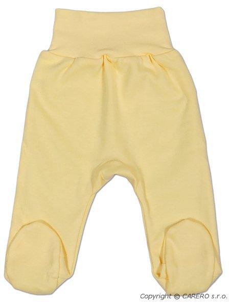 Dojčenské polodupačky New Baby žlté