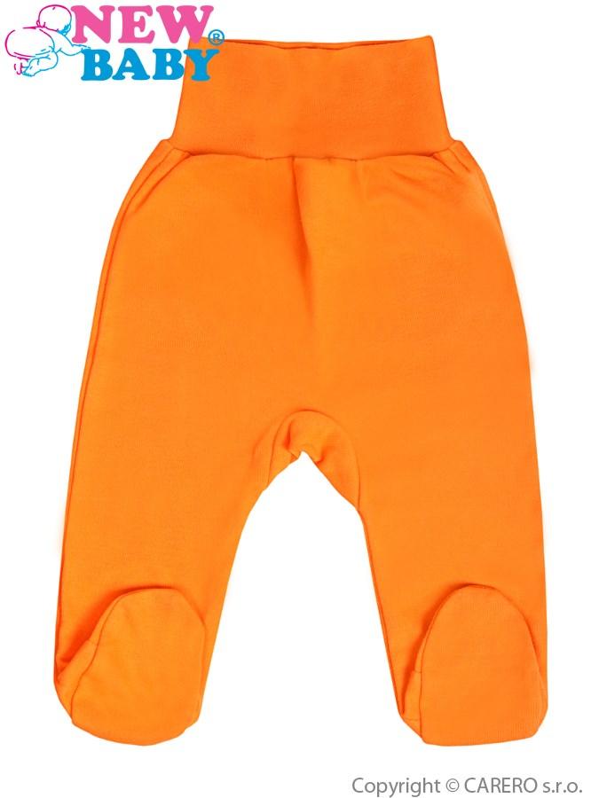 Dojčenské polodupačky New Baby oranžové