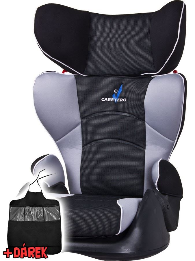 Autosedačka CARETERO Movilo light grey 2016