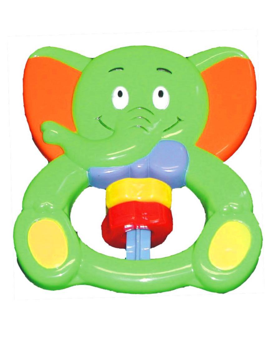 Hrkálka Baby Mix Sloník zelený