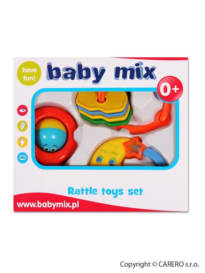 Sada hrkálok Baby Mix