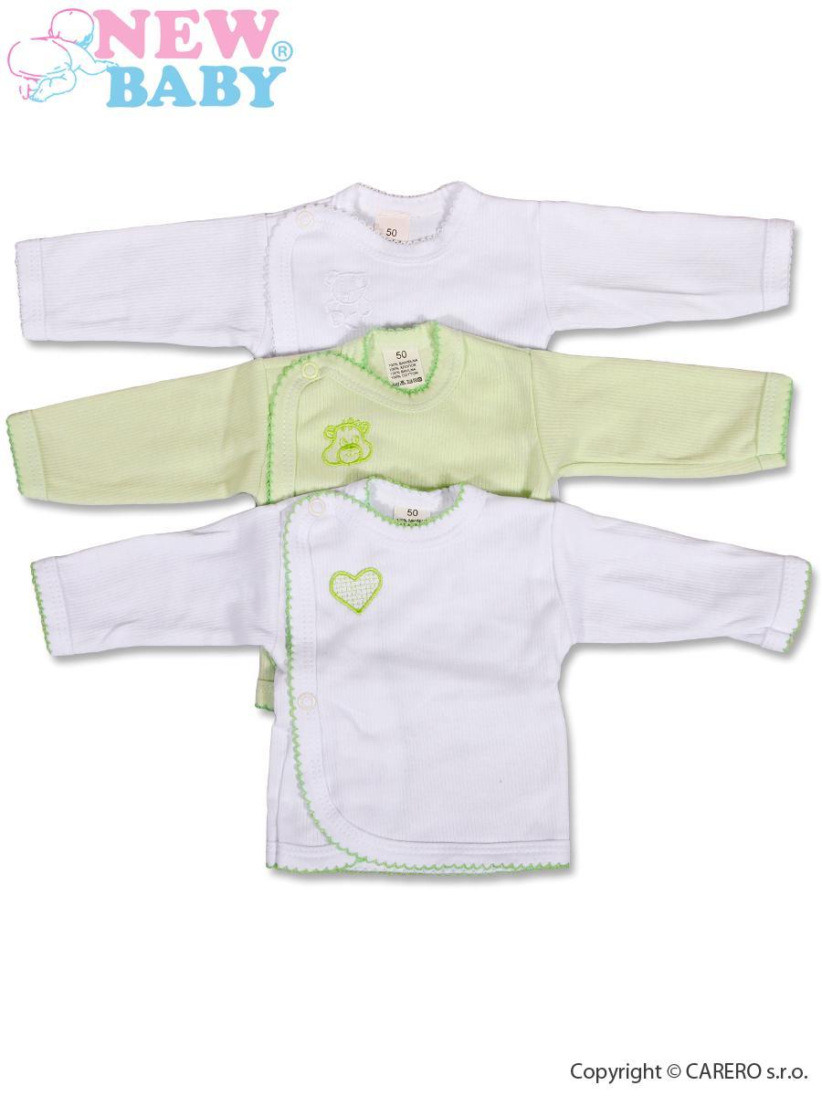 Dojčenská košieľka New Baby Classic 3ks