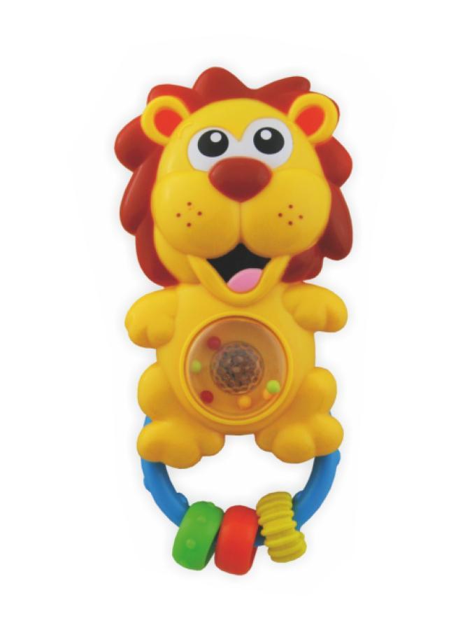 Detské hrkálka so zvukom Baby Mix lev