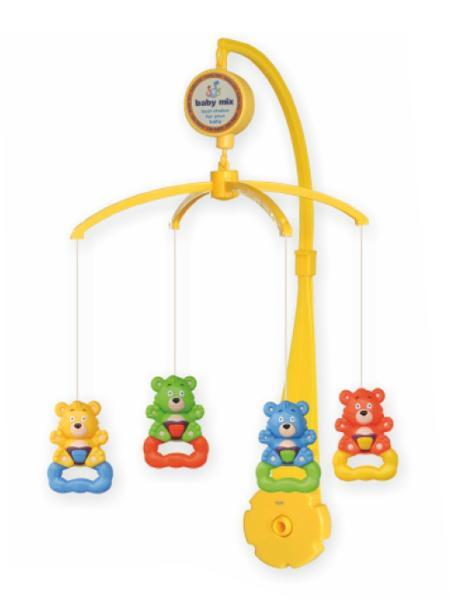 Kolotoč nad postieľku Baby MIx medvedíky