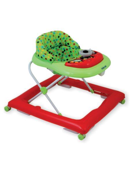 Detské chodítko Baby Mix red/green