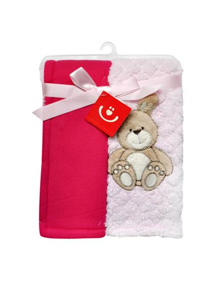 Detská dvojvrstvová chlpatá deka