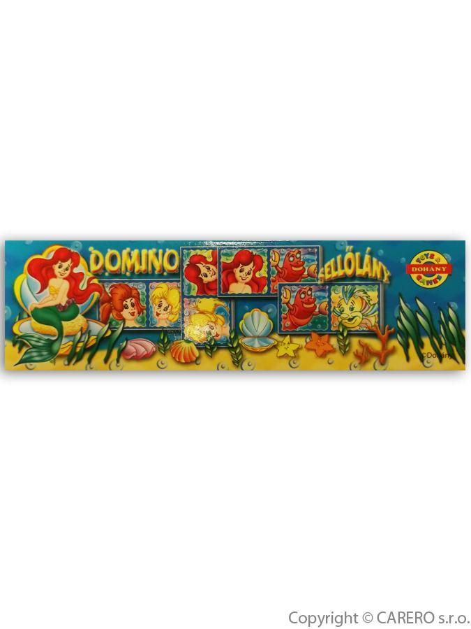 Detské domino malá morská víla