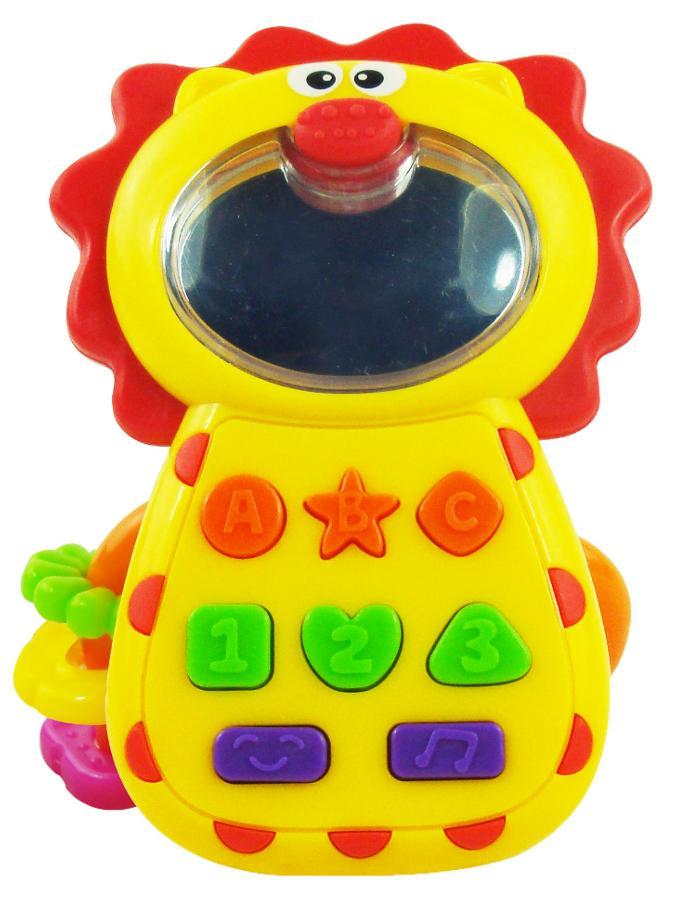 Detská hračka sa zvukom Baby Mix  Levíček