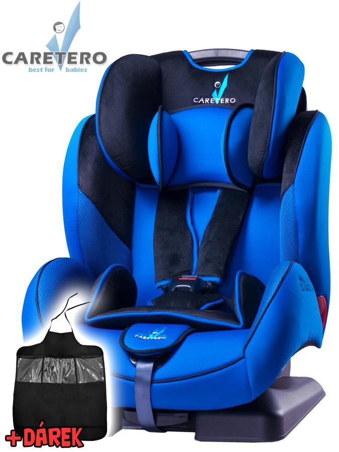 Autosedačka CARETERO Diablo XL blue 2016