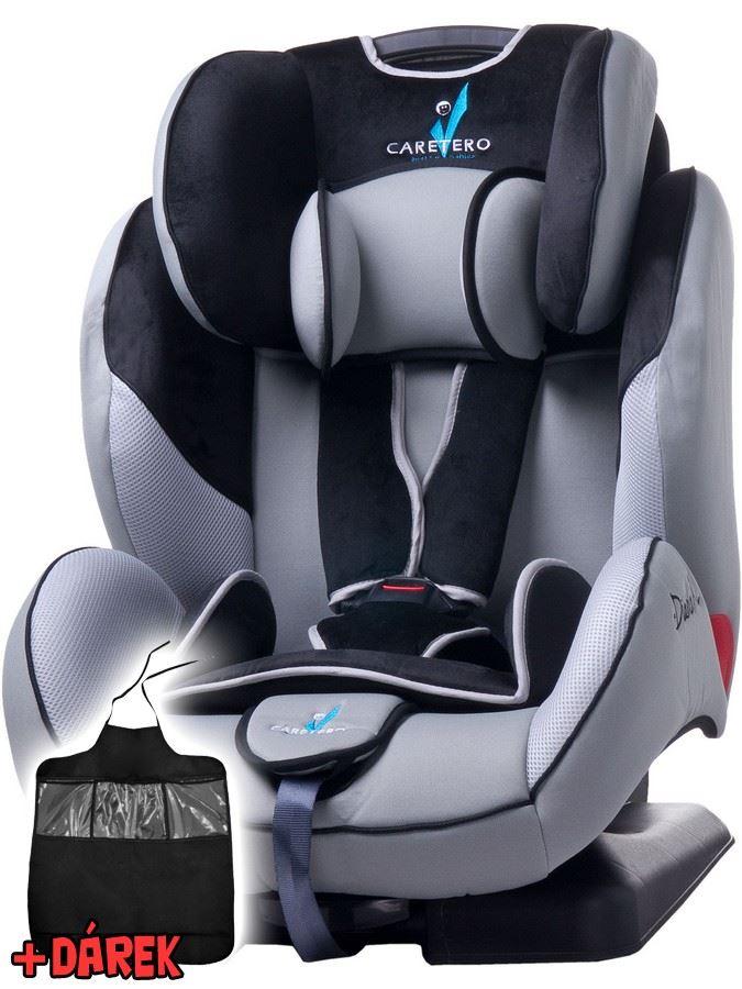 Autosedačka CARETERO Diablo XL grey 2016