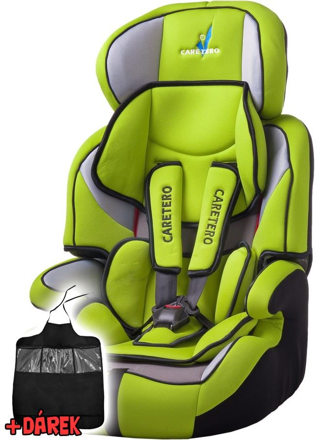 Autosedačka CARETERO Falcon New green 2016