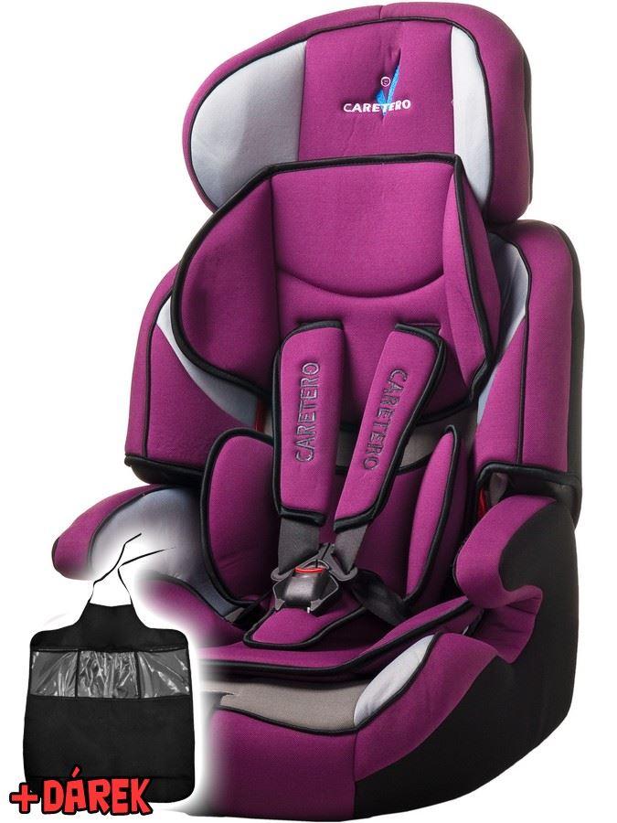 Autosedačka CARETERO Falcon New purple 2016